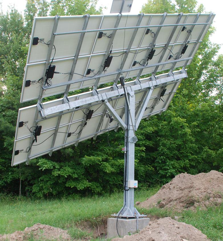 Ottawa Valley Photovoltaic Tracking Mount Types